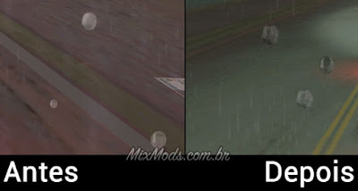 gta vice city ps2 rain graphics mod