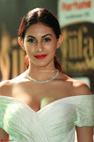Amyra Dastur in White Deep neck Top and Black Skirt ~  Exclusive 039.JPG
