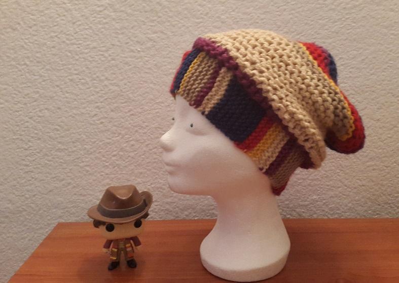 Como hacer un gorro basado en la bufanda de Tom Baker - Doctor Who ...