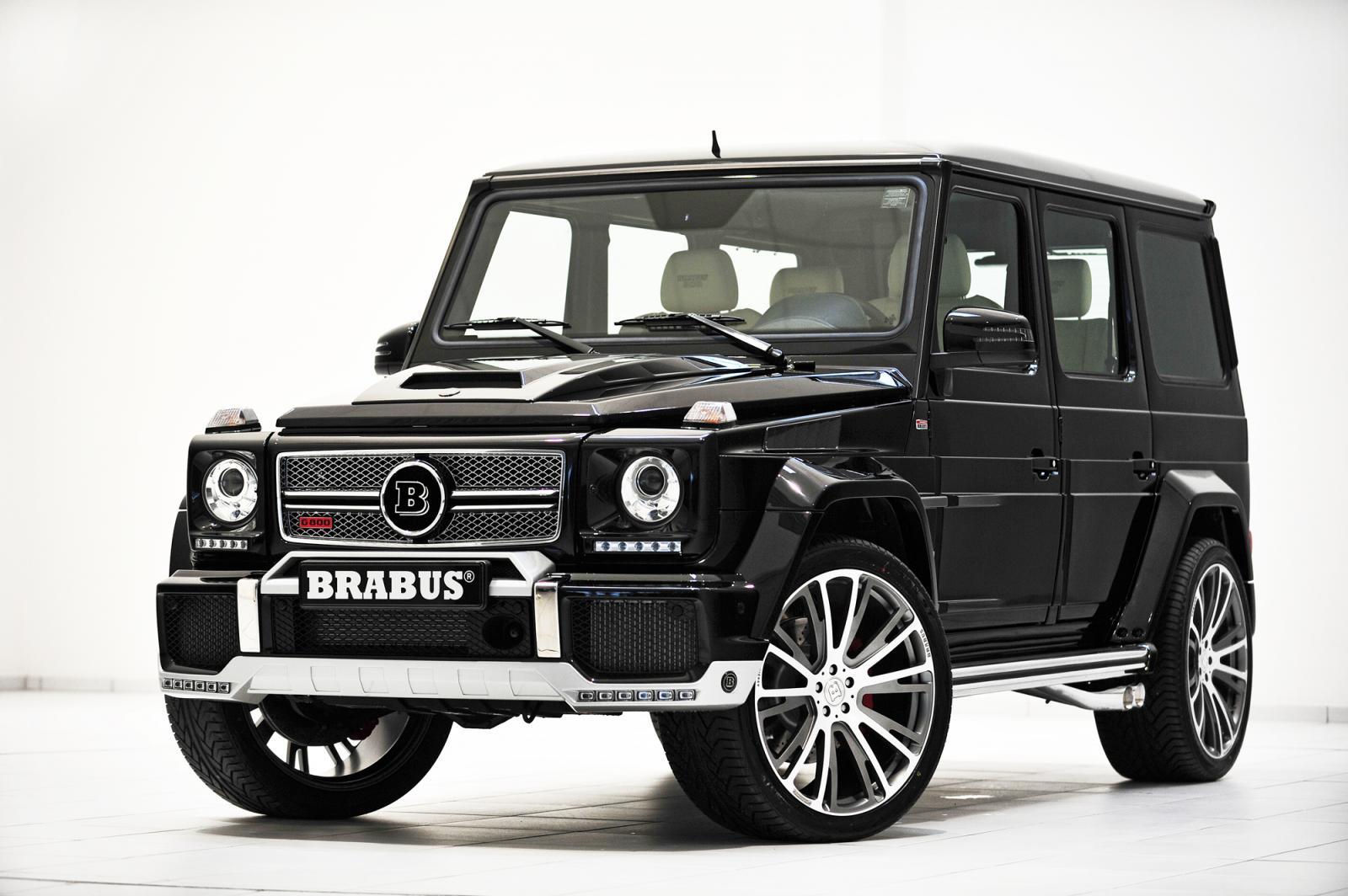 Một chiếc G Class được độ lại đẳng cấp của hãng độ Brabus