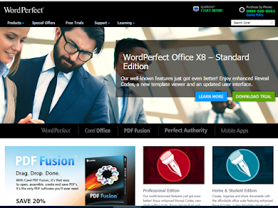 WordPerfect also offers PDF editing capability and ePub support