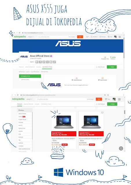 jadi Content Creator dengan Asus X555