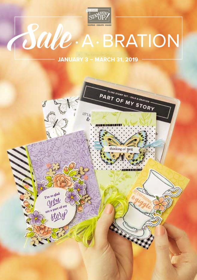2019 Sale-a-bration Catalog
