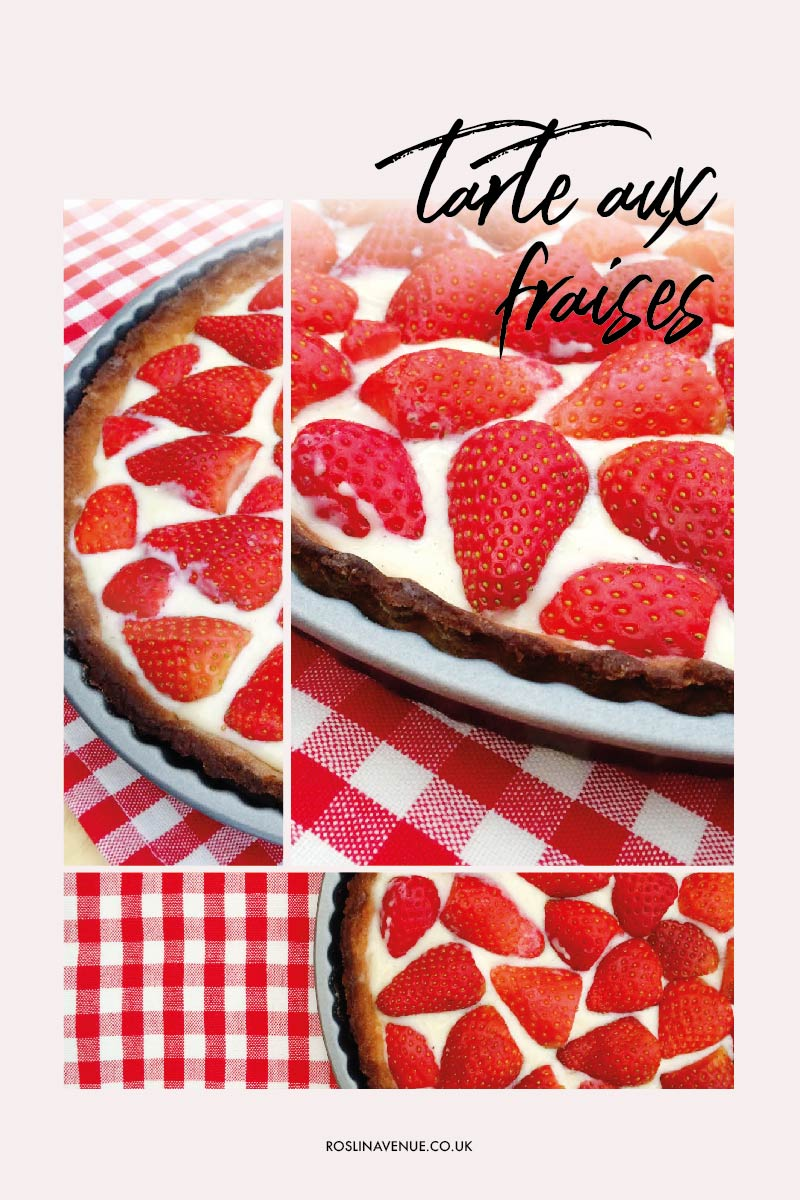 Classic French Strawberry Tart Recipe, Tarte aux Fraises