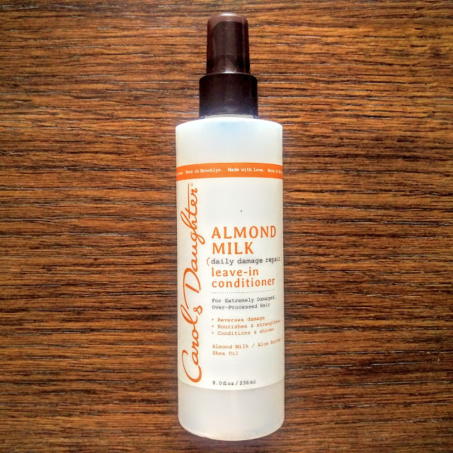 Almond Milk Leave-in Conditioner | Review by This NATURAL Thing