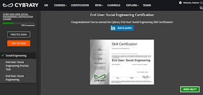 online IT certification course