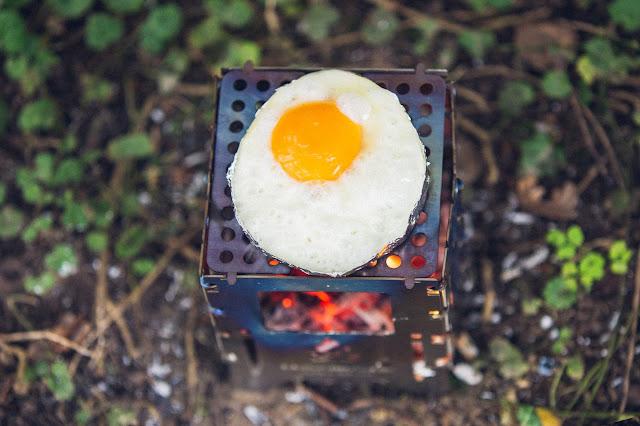 Outdoor Kitchen  Frühstück aus der Bushbox 06