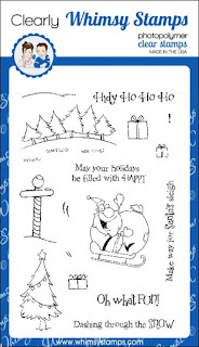 Whimsy Stamps Oh What Fun Stamp Set