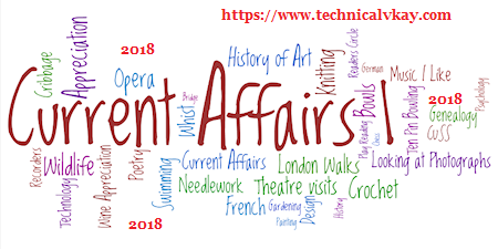 Current Affairs November 2018 in Hindi