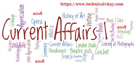 Current Affairs November 2018 in Hindi