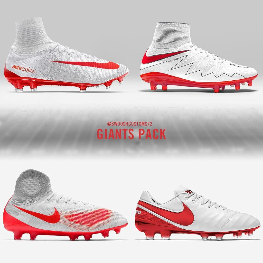 \u0027NY Giants\u0027 Nike Concept Boot Collection