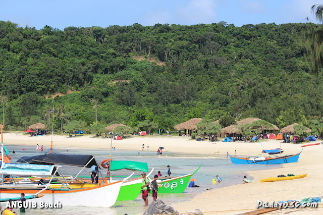 island hopping and boat ride at Anguib Beach, Sta. Ana Cagayan