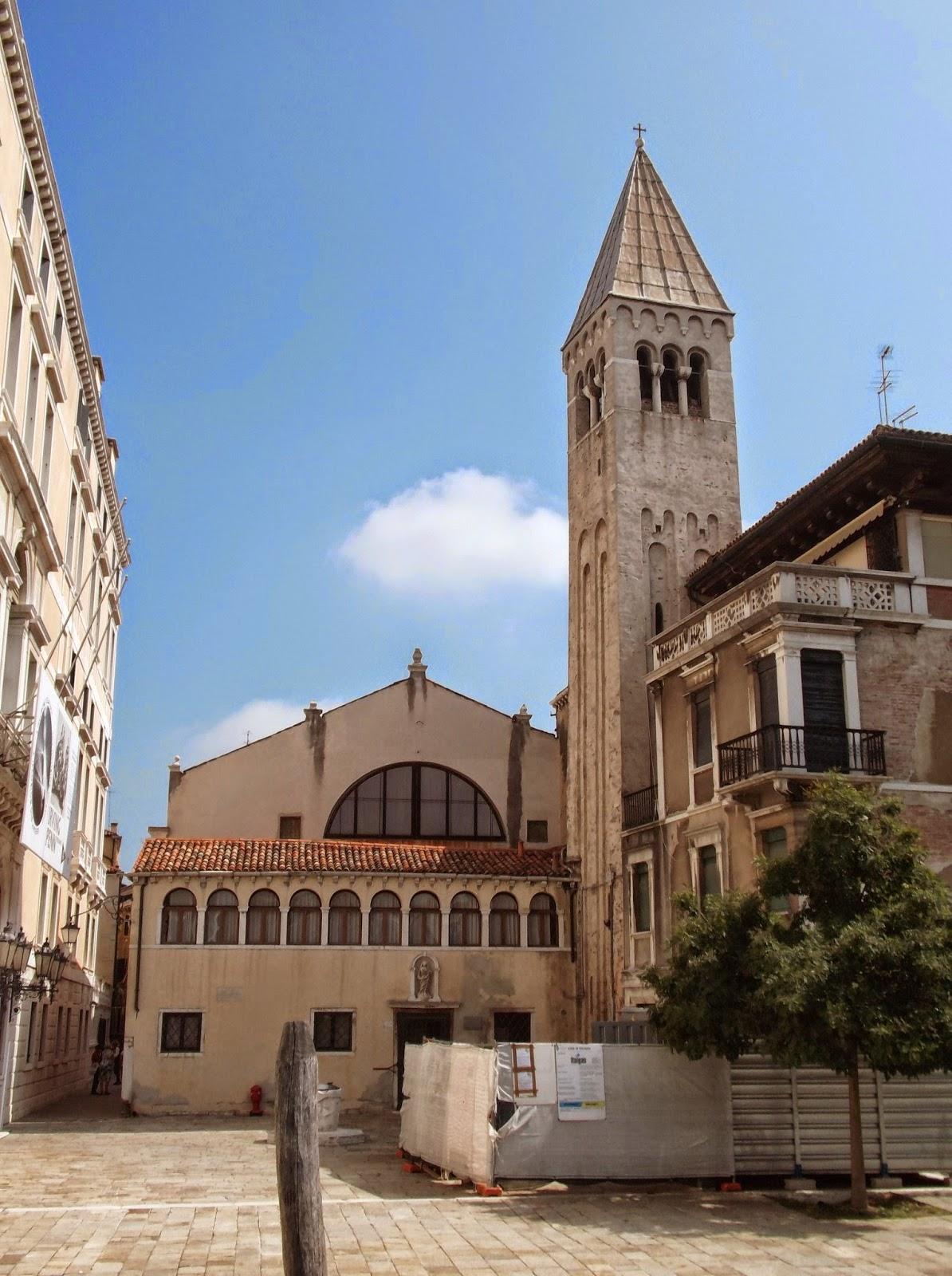 The church of San Samuele, Venice