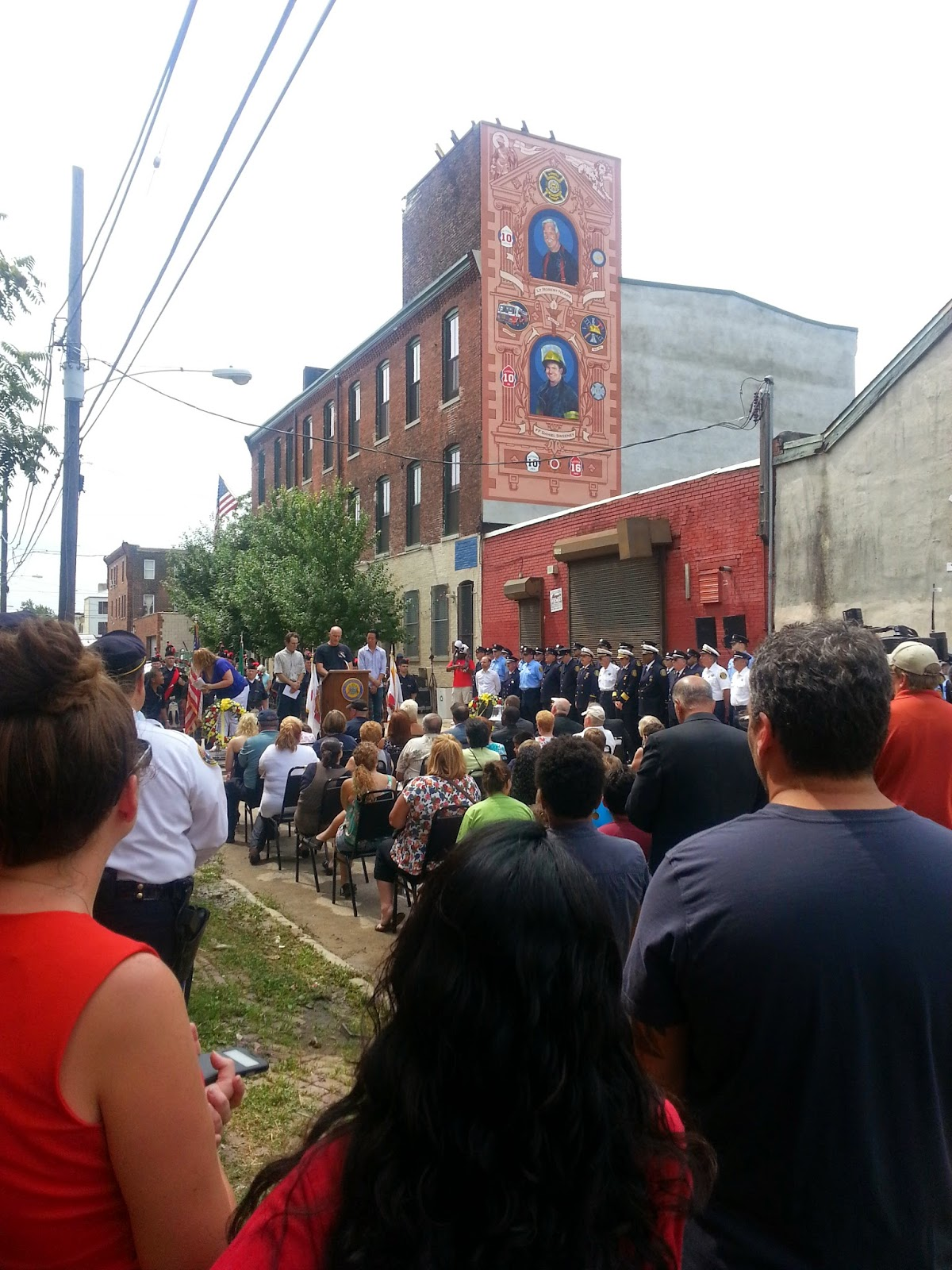 Silver's Travels: A mural dedication today in Philadelphia