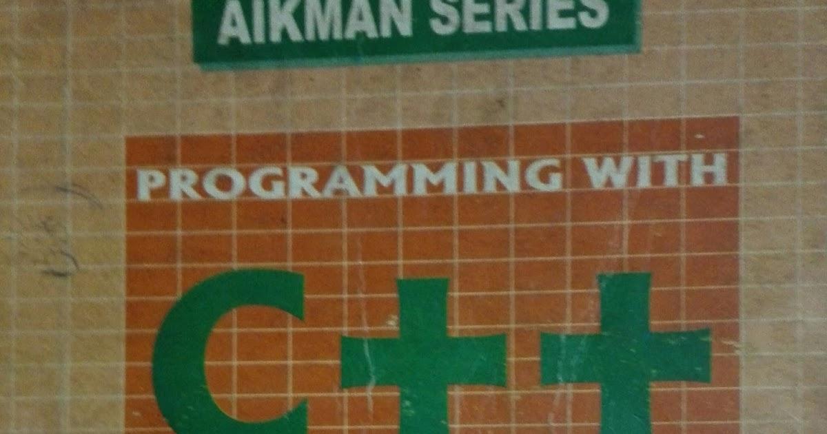 Aikman Series C++ Book