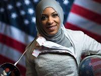 Ibtihaj Muhammad, Atlet Muslim AS di Rio de Jeneiro Peraih Perunggu