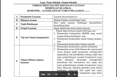 Contoh RPL Klasikal Kurikulum 2013 SMP, SMA, SMK