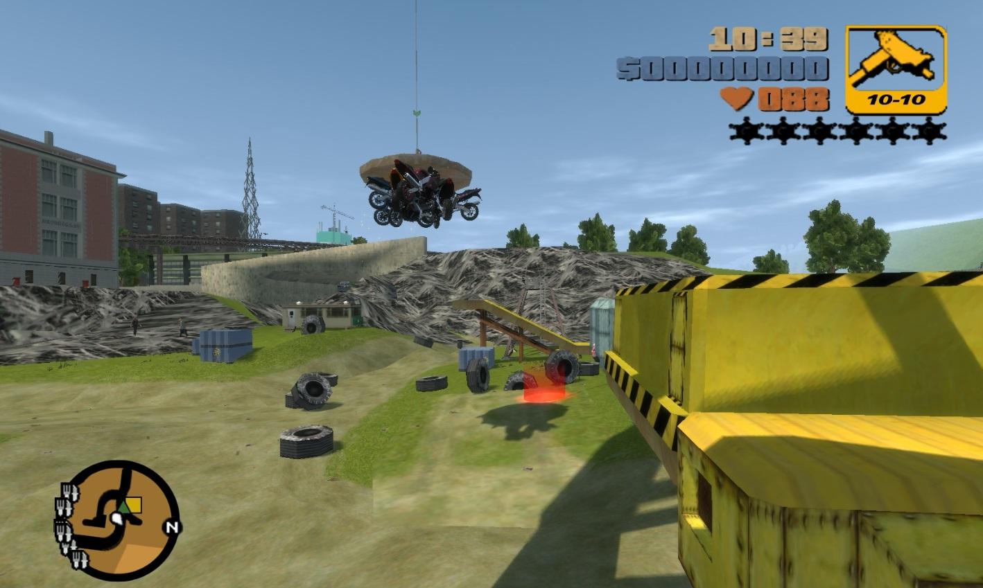 GTA X Scripting: GTA 3 Rage Classic - Junkyard car smasher add-on