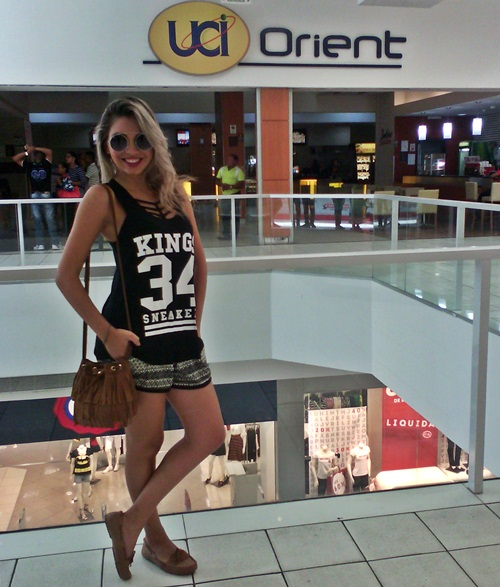 Look do dia + Os dez mandamentos
