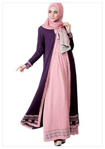 Muslimah Fashion Contoh Model Baju Muslim Wanita Modern Koleksi Terbaru 2016