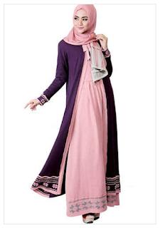 Contoh Model Baju Muslim Wanita Modern Koleksi Terbaru Update