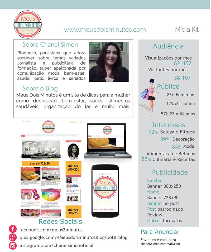 Publicidade, mídia kit