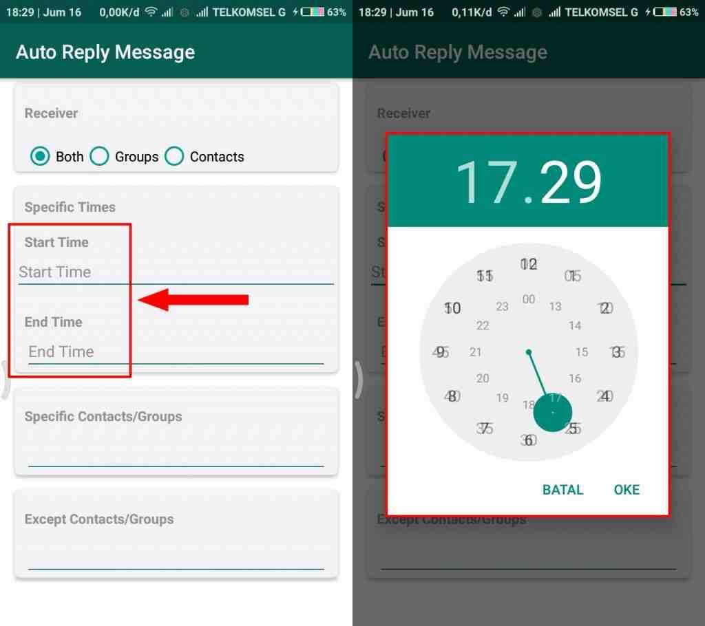 Cara Gampang Membuat Pesan Auto Reply WhatsappTanpa Root di Android 5