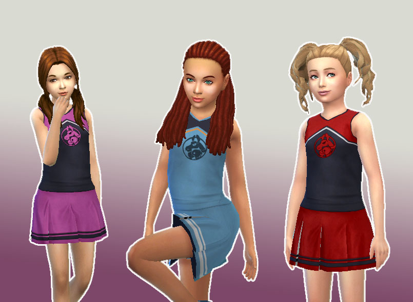 how to get cherrleading outfit in sims 4