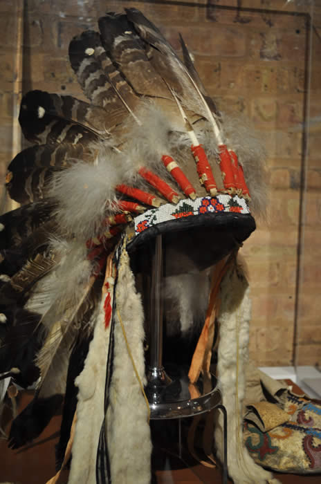 Costume Long Indian Chief Headdress