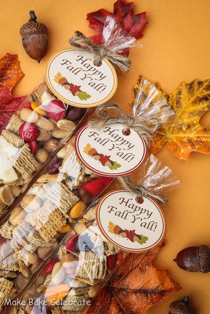 Fall Trail Mix and Free Printables