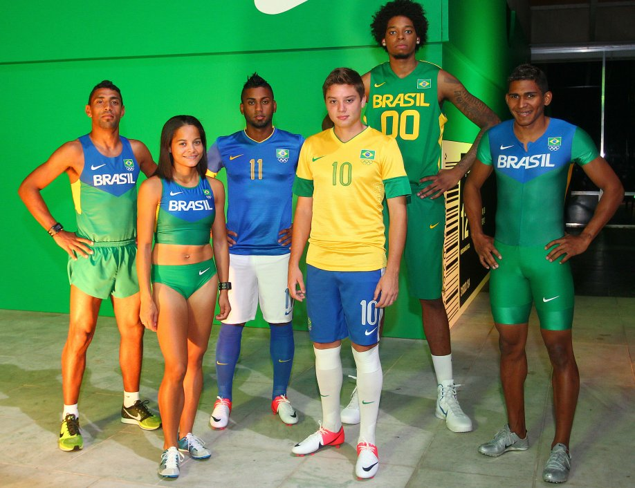 5ae5d46f3b COB apresenta os uniformes do Brasil para Londres - Testando Novo Site