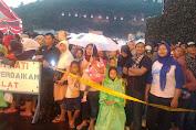 Ramin Warga Suryalaya Meski Diguyur Hujan Tetap Antusias Ikuti Perayaan HUT TNI Ke 72 Di Cilegon