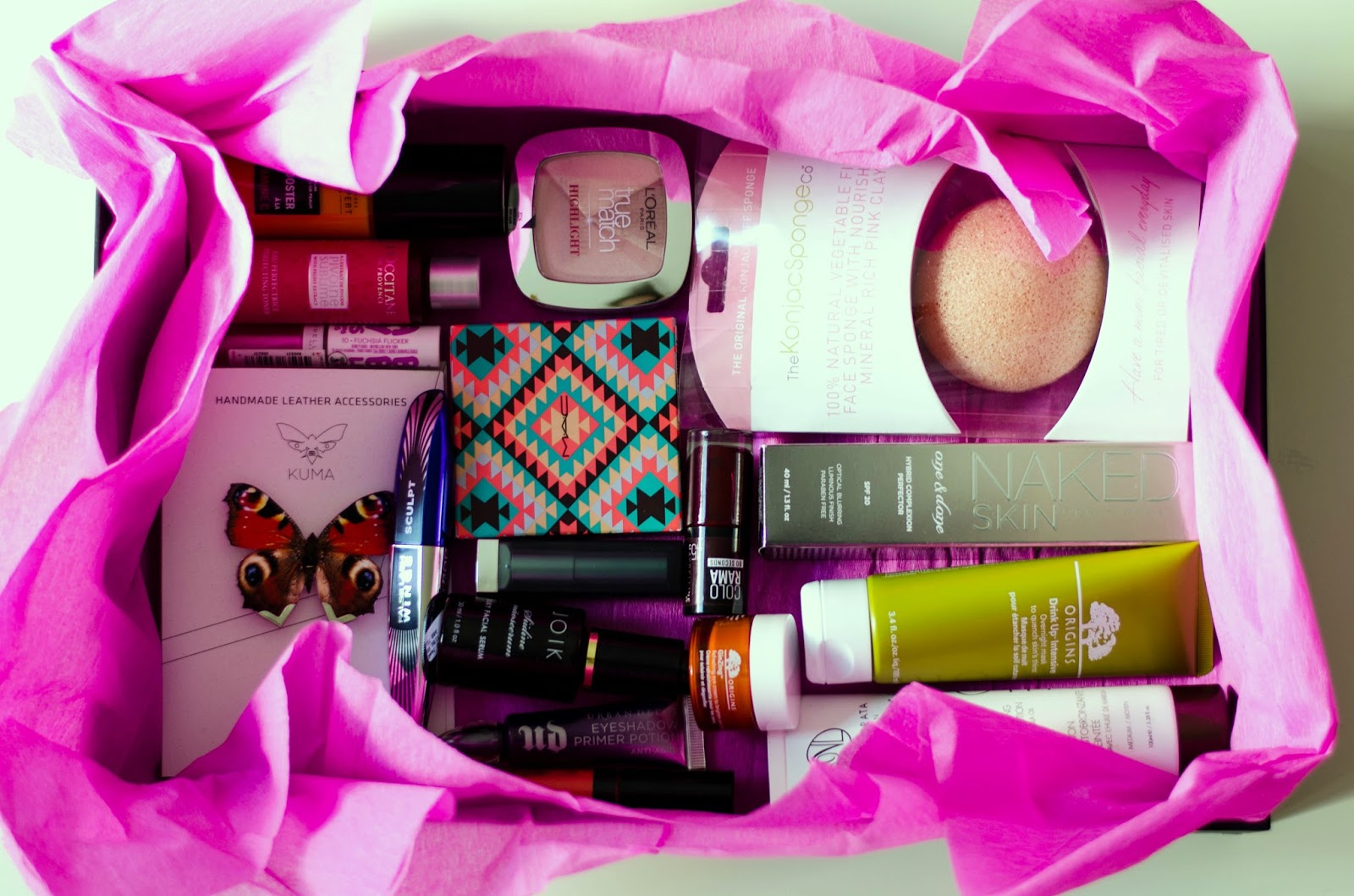 kristjaana beauty box giveaway