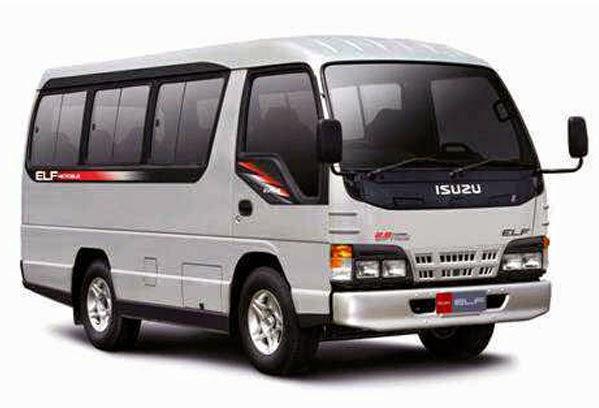 ELF 12 Seat Jasa Sewa dan Rental Mobil Makassar