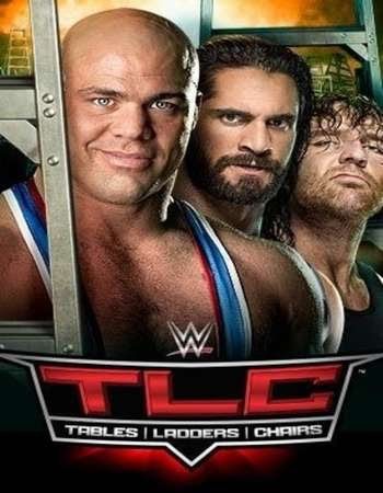 Poster Of WWE TLC 22nd October 2017 HDTV 480P 300MB