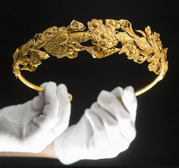 British Pensioner Finds 2 300 Year Old Ancient Greek