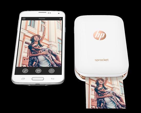 HP Sprocket: Máy in di động, in ảnh không cần mực