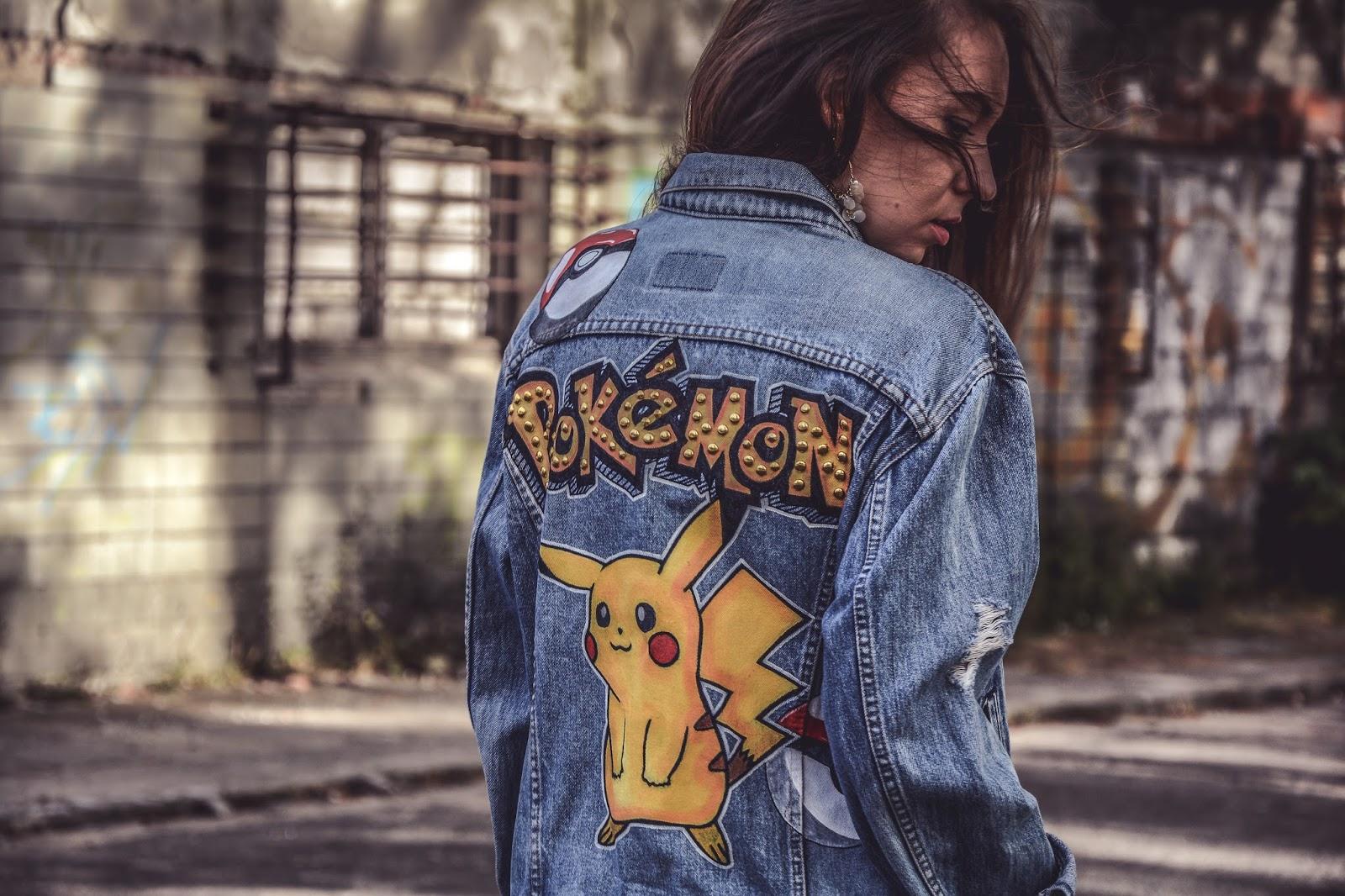 pokemon studded jacket