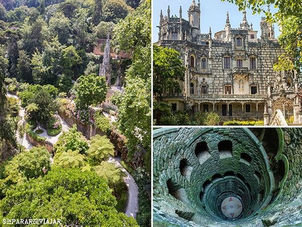 Quinta da Regaleira en Sintra, Portugal