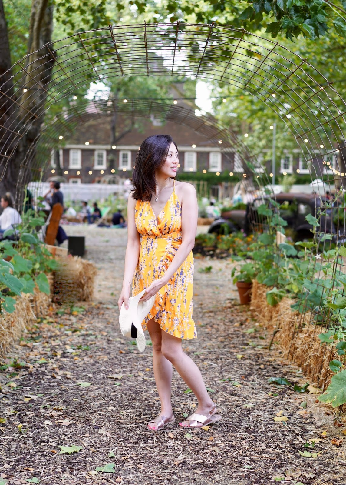 Bourne & Hollingsworth Beautiful Allotment Summe pop up Hoxton