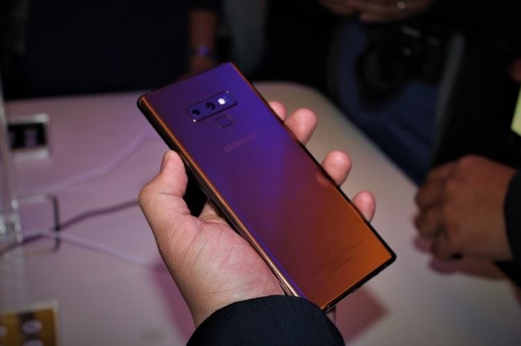 Samsung Philippines officially unveils the Galaxy Note9