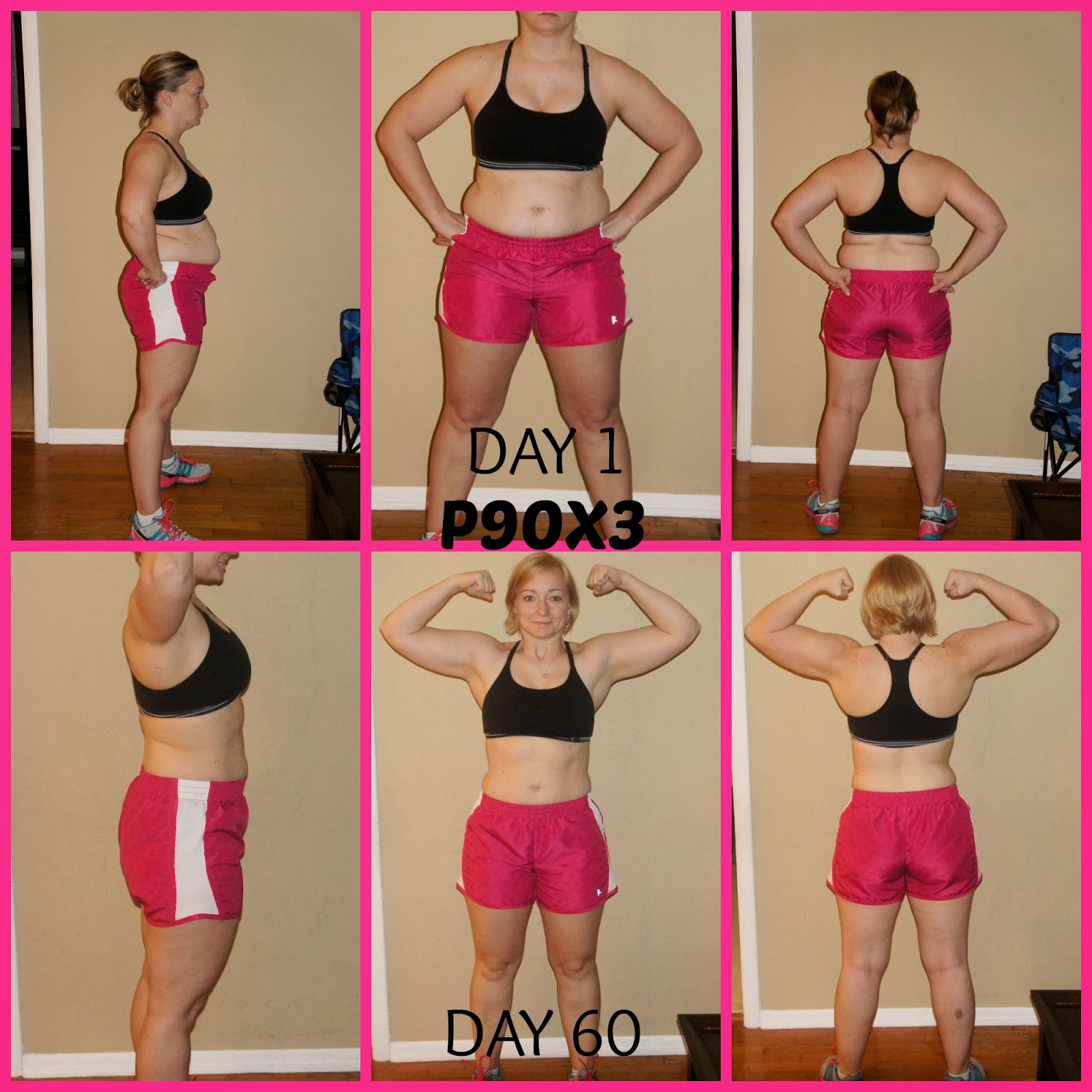 The Renaissance Woman P90x3 60 Day Results