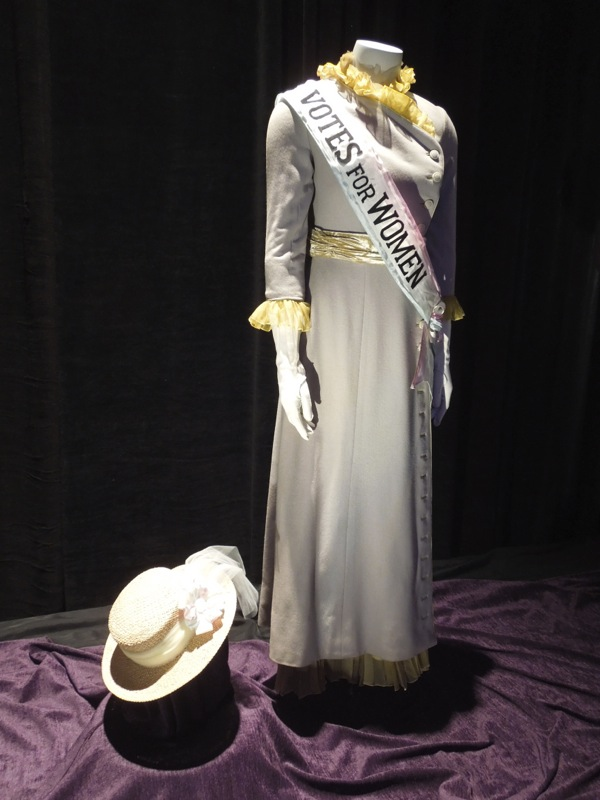 Mary Poppins Mrs Winifred Banks Suffragette costume