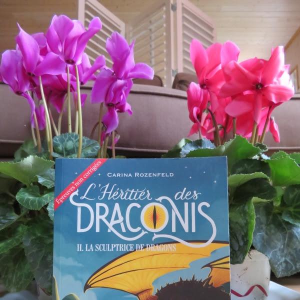 L'héritier des Draconis, tome 2 : La sculptrice de dragons de Carina Rozenfeld