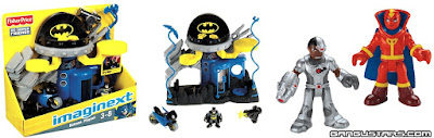Batman DC Comics Fisher-Price Imaginext Super Powers action figures super heroes イマジネックスト アメコミ バットマン