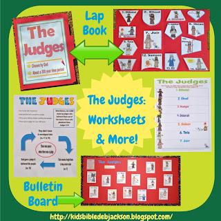 http://www.biblefunforkids.com/2013/11/the-judges.html
