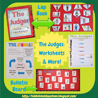 http://www.biblefunforkids.com/2013/11/the-judges.html