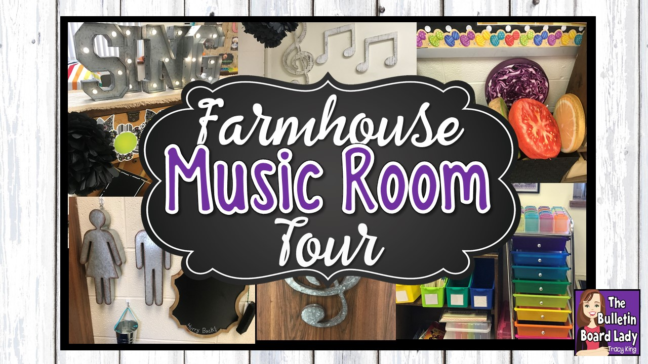 Music Themed Classroom Decorations ~ Mrs king s music class farmhouse room tour