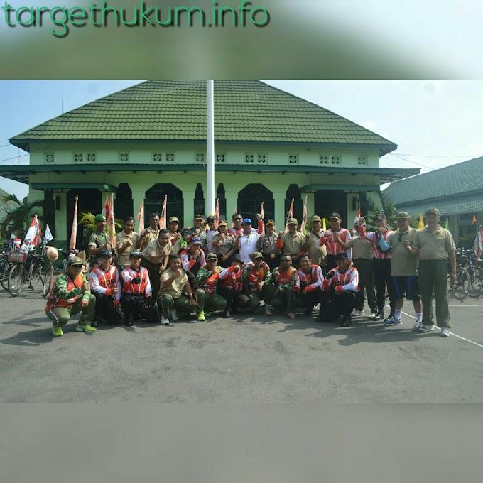 Kirab Sepeda Tua Sambangi Kodim 0718 PATI