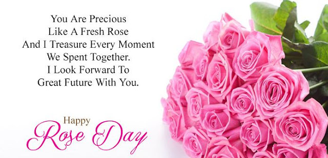 Rose day messages in english